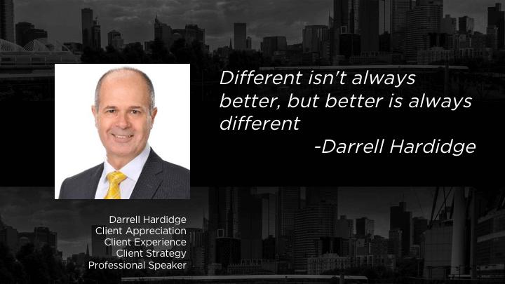 Darrell Hardidge - Client Appreciation - Mentor List