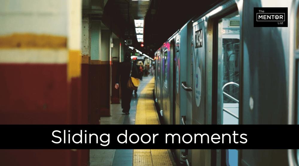 Sliding door moments